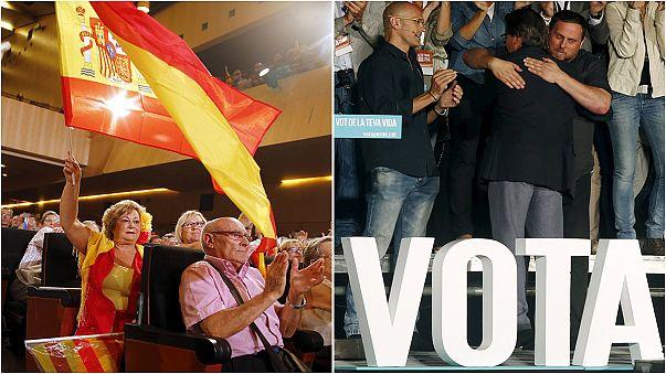 Katalonya: Siyasi partilerin seçim kampanyası sona erdi