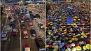 Then and now: Hong Kong protests one year on