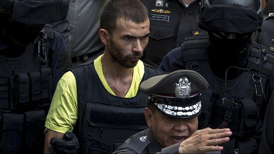 La policía tailandesa identifica a un detenido como el autor de la masacre de Bangkok
