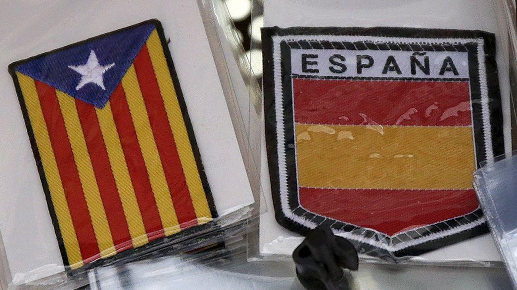 Ouverture des bureaux de vote en Catalogne
