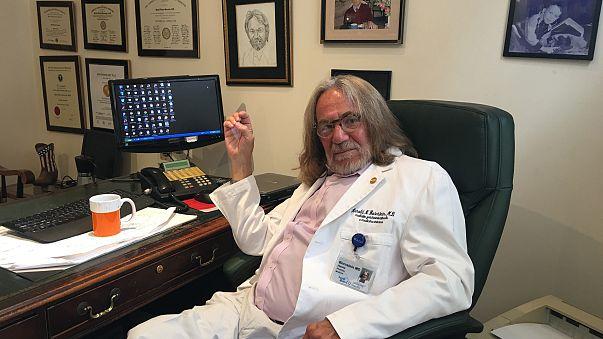 Trump doc says Trump bodyguard 'raided' his office, took files