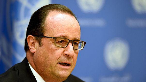حملات فرانسه در سوریه همزمان با افزایش رایزنی های بین المللی برای یک راه حل دیپلماتیک