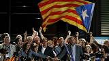 Catalan separatists celebrate major win in regional poll