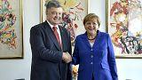 """ميركل: """"الوضع الاوكراني هام للامن العالمي"""""""