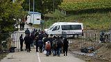 البانيا - مونتينيغرو - كرواتيا : ممر جديد شتوي لوصول اللاجئين الى اوروبا الغربية