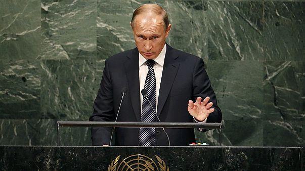 В прямом эфире: Путин и Обама выступят на Генассамблее ООН