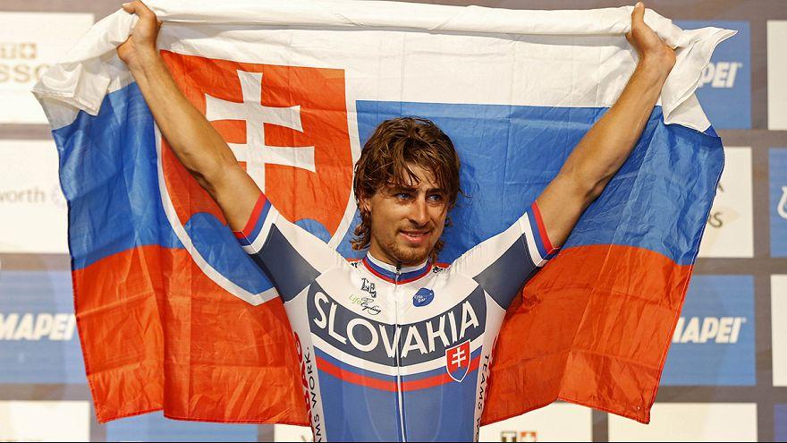 الدراج السلوفاكي بيتر ساغان بطلا عالميا في سباق الدراجات الهوائية