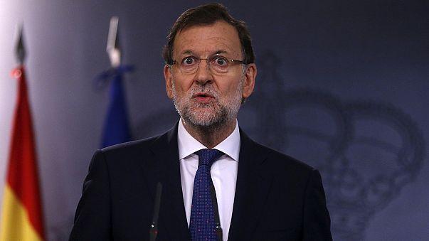 """Catalogna: Rajoy """"maggioranza è contro la secessione"""""""