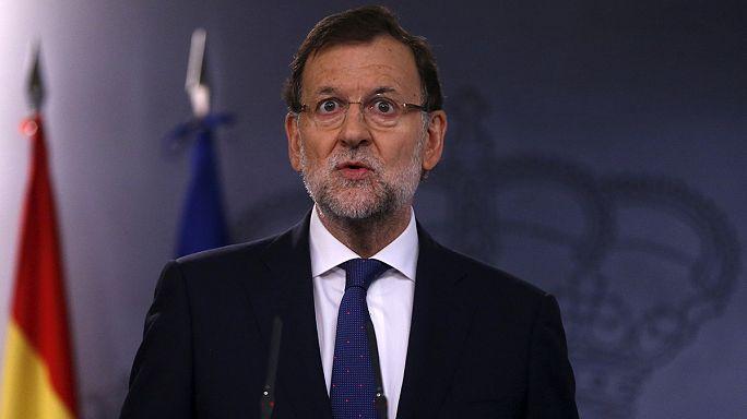 A törvényekre figyelmezteti a katalánokat a spanyol kormányfő