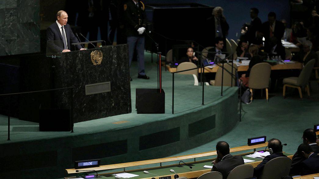 Obama llama a un acuerdo con Rusia e Irán para una siria sin al Asad