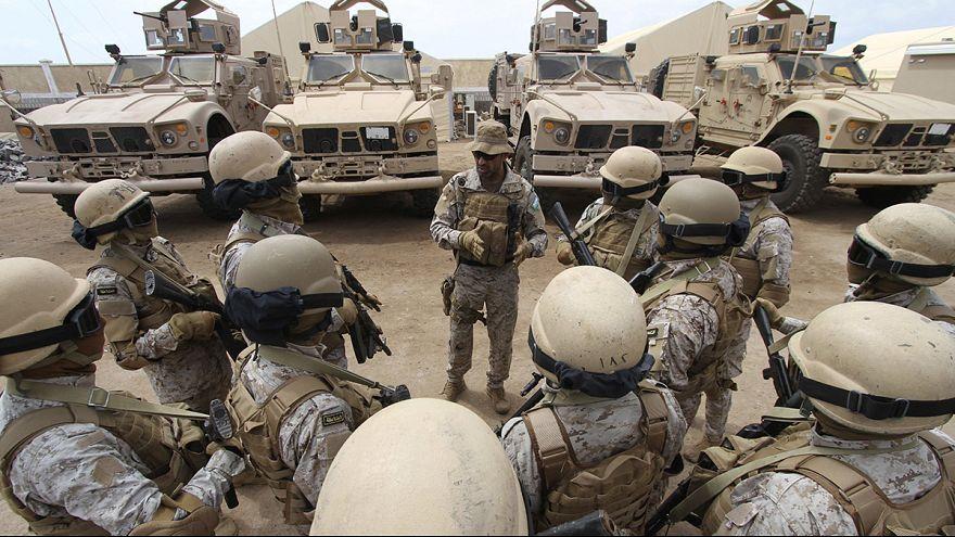 Forças terrestres sauditas entram no Iémen