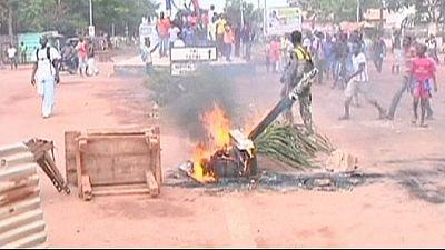 RCA: manifestantes exigem intervenção do exército