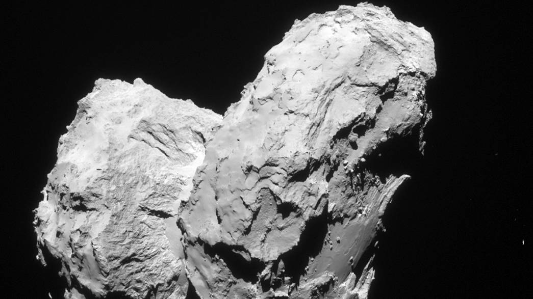 Rosetta: duck comet is double bill