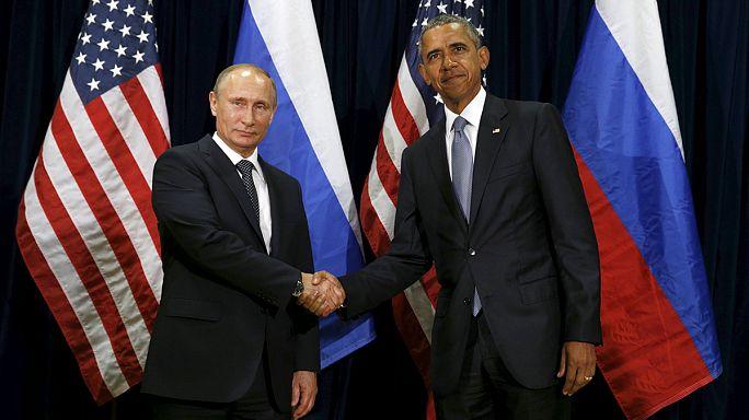 Barack Obama et Vladimir Poutine discutent mais s'affrontent sur Bachar al-Assad