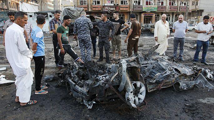 Az Iszlám Állam robbantott Bagdadban