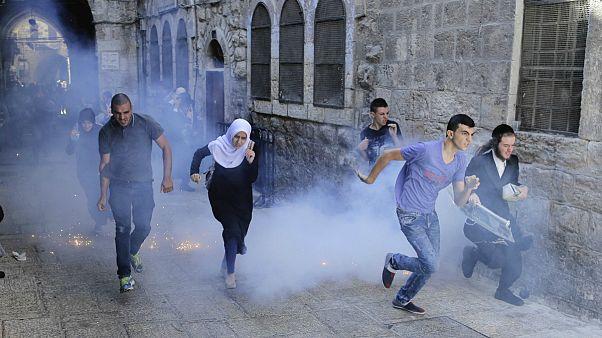 Ένταση στην Ιερουσαλήμ κατά τη διάρκεια της εβραϊκής γιορτής
