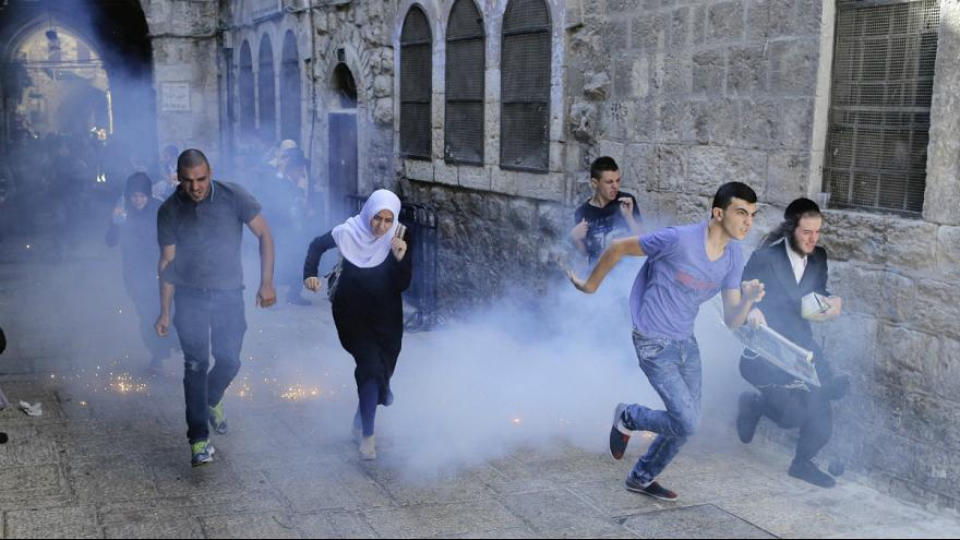 Tensions in Jerusalem during Jewish holiday