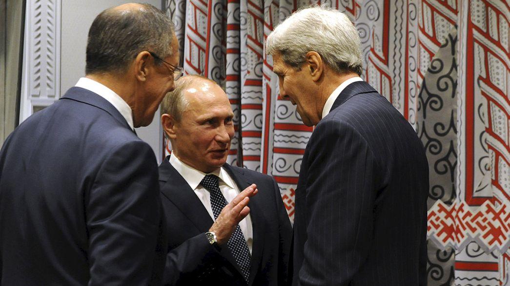 """Moscou et Washington en quête de """"bases communes"""" sur le dossier syrien"""