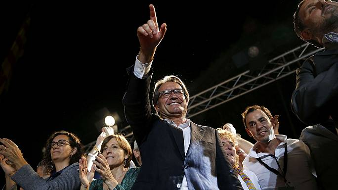 Catalan president Artur Mas charged with organising illegal independence referendum