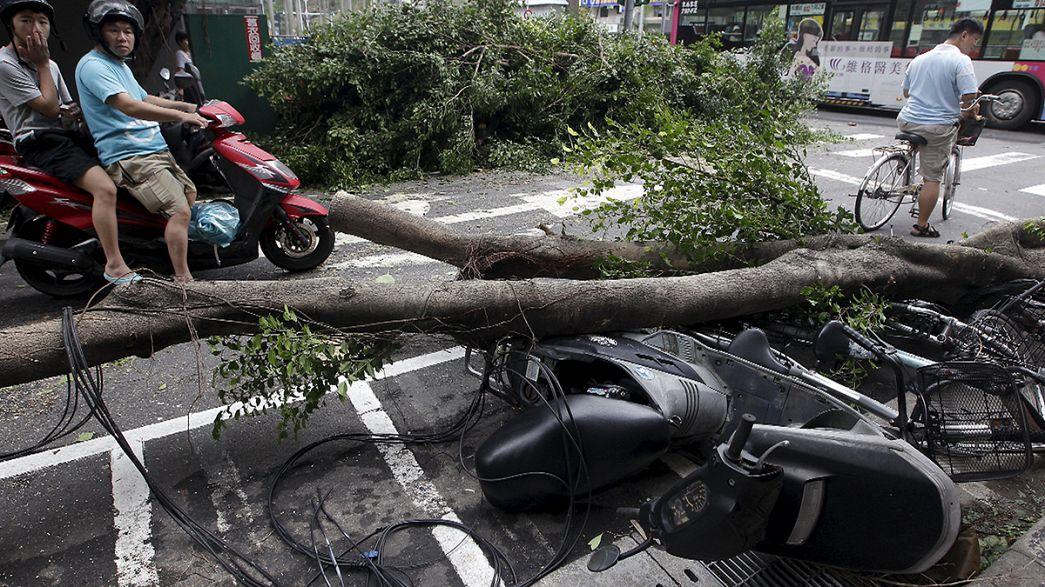 Le typhon Dujuan atteint la Chine