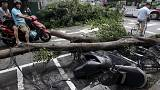 Typhoon Dujuan batters China after deadly passage through Taiwan