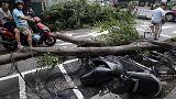 قتلى وجرحى في تايوان بسبب الاعصار دوجوان العنيف