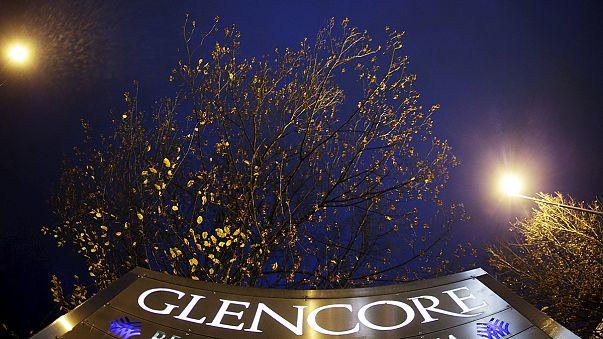 Ações da Glencore afundam na segunda-feira