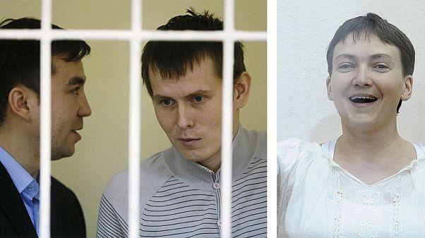 Ουκρανία-Ρωσία: Παράλληλες δίκες κρατουμένων