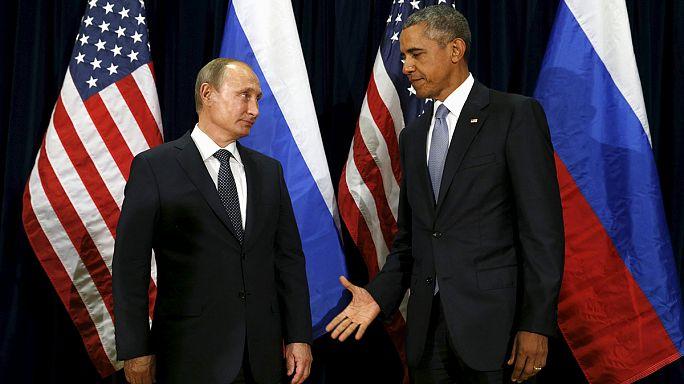 Syrie : guerre d'influence entre Poutine et Obama