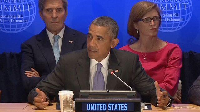 أوباما يجدد خلال قمة مكافحة الإرهاب موقف واشنطن الرافض لبقاء الأسد في السلطة
