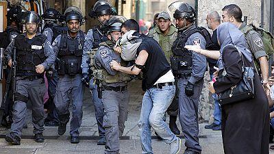 Choques en Cisjordania por la tensión en la Explanada de las Mezquitas de Jerusalén