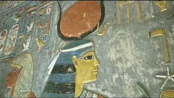 Nefertiti'nin kayıp mezarı tarayıcıyla aranacak