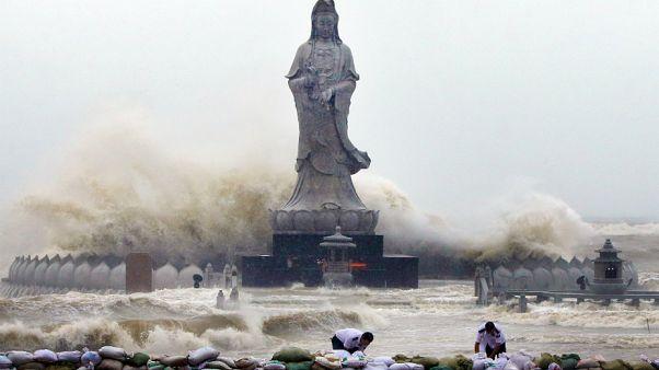 Wirbelsturm Dujuan: Schwere Schäden in China und Taiwan