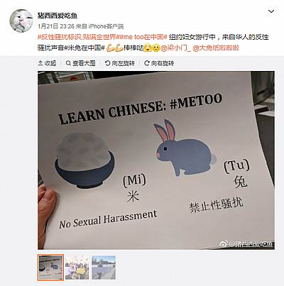 "Chinese activists used ""#RiceBunny"" to get around China\'s strict internet censorship."