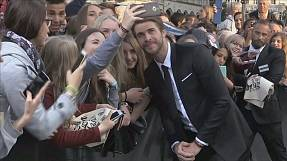 Golden Eye Award to Liam Hemsworth at Zurich Film Festival