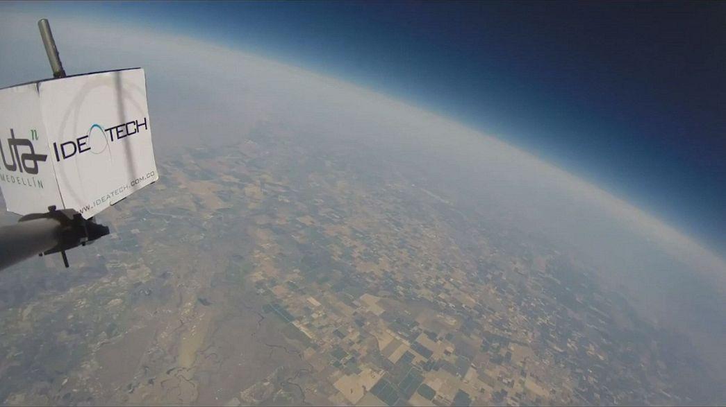 Medellin nello spazio