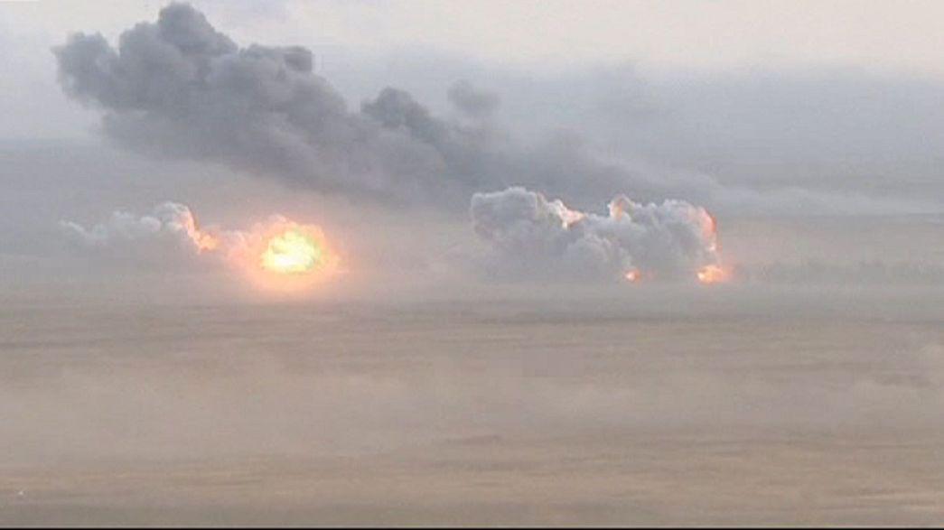 Les raids aériens russes ont commencé sur la Syrie