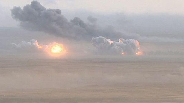 Orosz légicsapások Szíriában