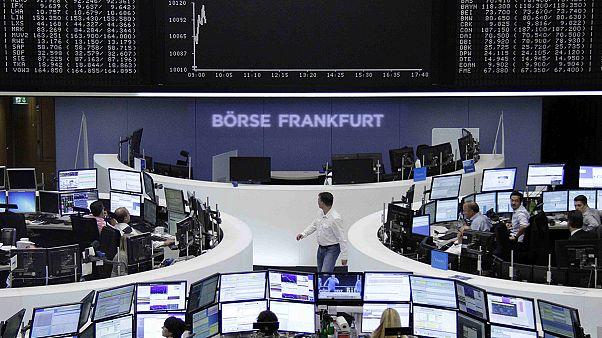 الاسهم الاوربية ترتفع بفعل تعافي الاسواق العالمية