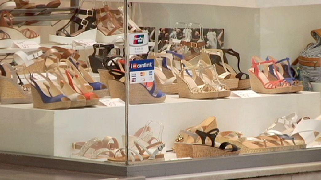 إنخفاض مبيعات التجزئة في اليونان