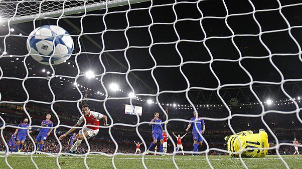 دوري أبطال أوروبا: أرسنال و تشيلسي يجران أذيال الهزيمة