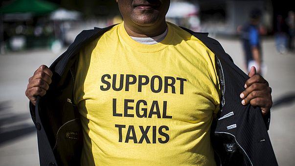 Fransa'da Uber duruşması