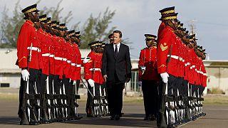 Visita incómoda de David Cameron a Jamaica