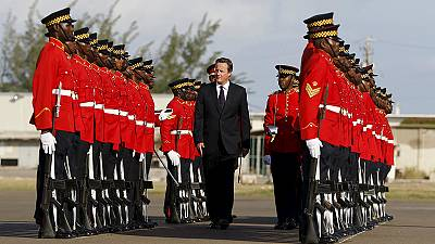 Cameron hit for slave reparations in Jamaica