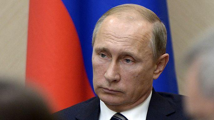 """""""Terroristas"""" na mira de ataques russos na Síria"""