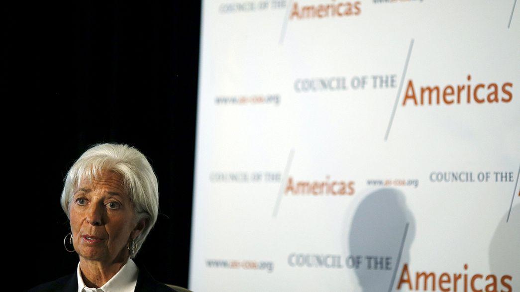 Lagarde alerta para consequências da crise migratória