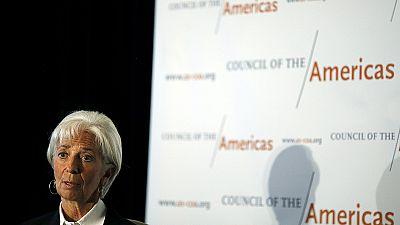 IMF chief warns of weak global growth figures