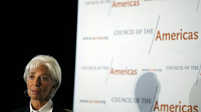 IMF chief warns of weak global growth figures