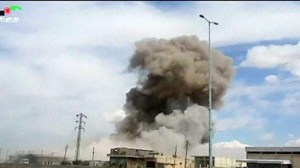 دهها غیرنظامی سوری در حملات هوایی جنگنده های روسیه جان باختند