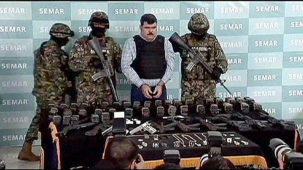 مکزیک چند قاچاقچی خطرناک را به آمریکا فرستاد